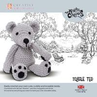 Knitty Critters Crochet Kits - Bouton Ted